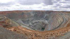 Карьер для добычи полезных ископаемых