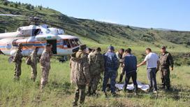 Спасатели в Туркестанской области