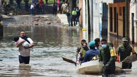 Наводнение в Мексике