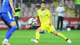Георгий Жуков, игрок сборной Казахстана по футболу