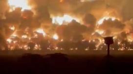 Взрыв НПЗ в Индонезии