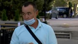 Житель Алматы Берик Мухамеджанов
