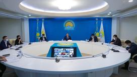 Заседание республиканского общественного совета по противодействию коррупции