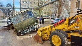 Грузовик в Уральске