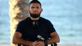 Дагестанский боец ММА Хабиб Нурмагомедов