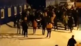 Массовая драка в Мурманской области