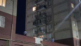 Многоэтажка в микрорайоне Нурсат