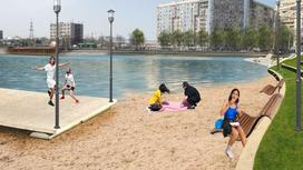 Проект благоустройства озера Сайран