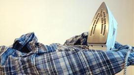Утюг и мятая рубашка