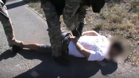 Задержание подозреваемого в Талдыкоргане