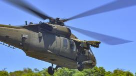 Американский боевой вертолет Black Hawk UH-60L