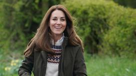 Кейт Миддлтон на ферме графства Дарем