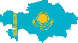 Карта и флаг РК