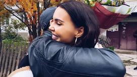 Оксана Самойлова с отцом