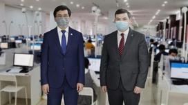 Асхат Аймагамбетов и Дидар Смагулов
