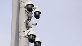 Камеры Сергек висят на столбе