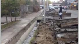 Бордюры меняют в Алматы