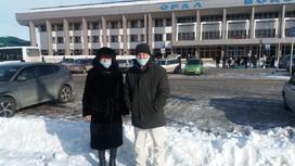 Наталья Константиновна с родственником