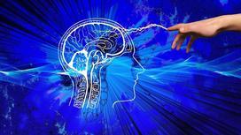 От руки в мозг идет электрический заряд (фантазия)