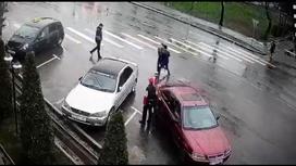 Момент похищения Айзады Канатбековой