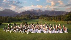 Оркестр в горах