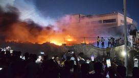 Пожар произошел в больнице