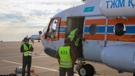 Казахстанские спасатели