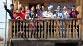 Семья из Алматинской области