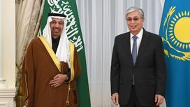 Касым-Жомарт Токаев и Халид Аль-Фалих