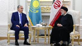 Касым-Жомарт Токаев и Ибрахим Раиси