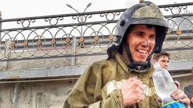 Погибший пожарный Жанибек Турманов