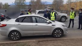 Задержание подозреваемого в Уральске