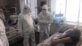 Пациенты в инфекционном стационаре