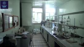 Лаборатория, где производился алкоголь