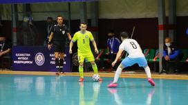Жомарт Токаев в игре против Израиля
