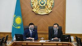 Бакытжан Сагинтаев и Алексей Цой