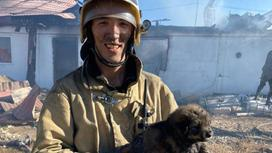 Пожарный городской части №5 Наурызбай Халилаев