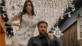 Сабина Алтынбекова с мужем Саятом Тостыкбаевым