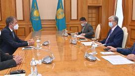 Токаев принял вице-президента компании Linde Group