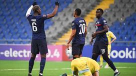 Матч Казахстан - Франция