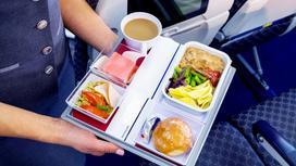 6 фактов о еде в самолете, которые вы не знали