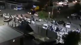 Волнения в Сатпаеве: сожжены несколько машин