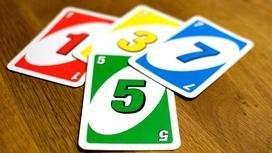 Карточки для игры за столом с цифрами