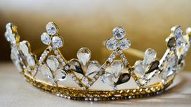 Корона с бриллиантами