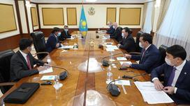 Встреча Лакшми Миттал с премьер-министром и президентом РК