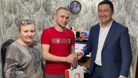 «Казахтелеком», подключил первых абонентов в городе Шахтинск