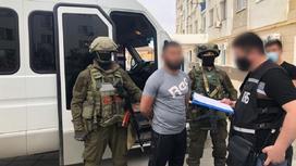 Задержание в Атырау