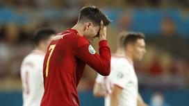 Испания опустилась на третье место в группе