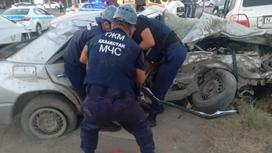 Авария в Кызылорде