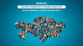 Четвертый сезон онлайн-голосования NUR.KZ «Голос народа 2021»
